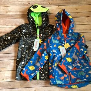 NWT Cat and Jack raincoats 2t and 3t set